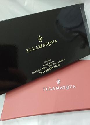 Палетка теней illamasqua unveiled artistry palette6 фото