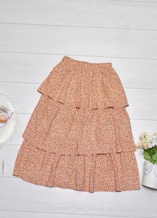 Стильна юбка в квітковий принт arma life.