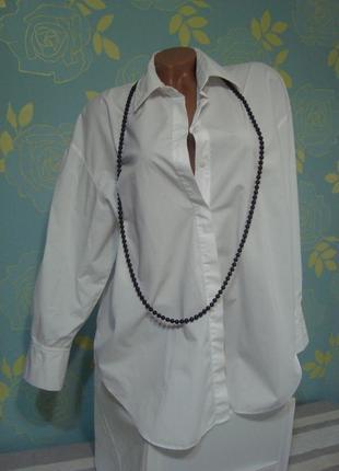 Обьёмная блуза-оверсайс zara