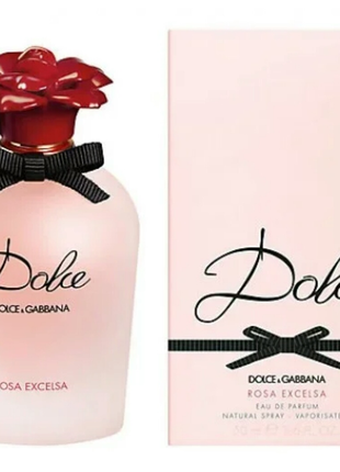 Женский парфюм dolce & gabbana dolce rosa excelsa 75 мл