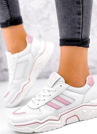 Стильні жіночі кросівки. р-ри 36-39 маломірять