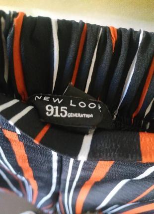 Стильные кюлоты в полоску с боковыми карманами7 фото