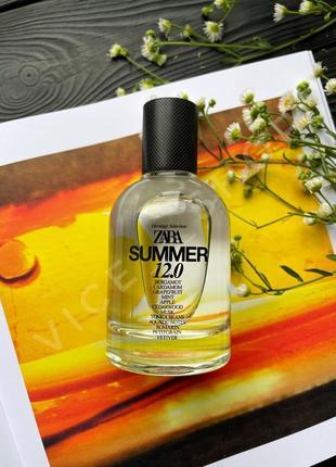 Zara summer 12.0 мужские духи парфюм парфюмерия туалетная вода оригинал испания