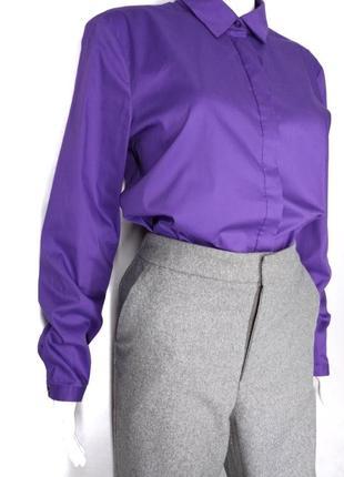 🛍️super sale -50%🛍️яркая фиолетовая рубашка от esprit size 14
