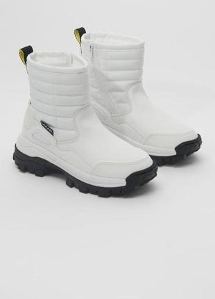 Треккинговые ботинки сапоги zara 34 размер, черевики чоботи