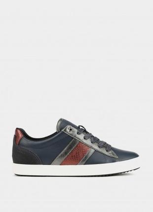 Модні жіночі черевики geox / оригинальные женские полуботинки geox