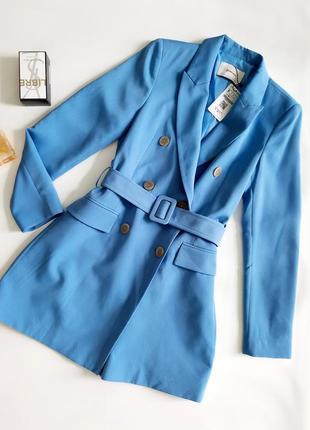 Stradivarius платье-пиджак блейзер с поясом