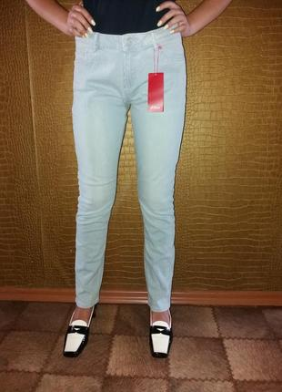 Распродажа-джинсы новые летние в мелкую полоску s.oliver p.12/32