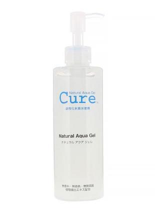Японский бестселлер от toyo cure natural aqua gel натуральный пилинг для лица , 250 гр.