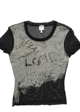 Moschino jean's футболка топ