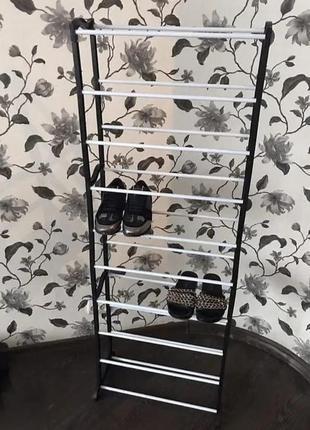♥️полка для обуви, органайзер, стеллаж amazing shoe rack на 30 пар