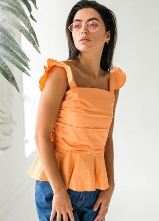 Блуза майка нарядная