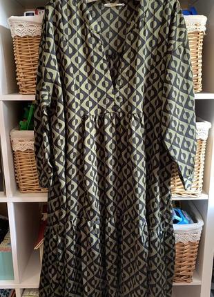 Платье оверсайз: oversize: сарафан