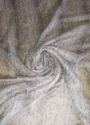 Фирменный шарф палантин шаль, хлопок