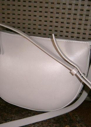 Красивая. стильная. маленькая сумка кросс-боди из натуральной кожи. jigsaw