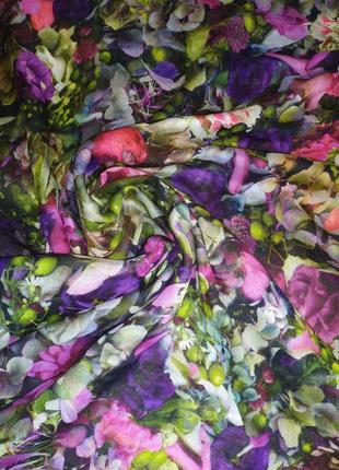 Красивейший фирменный шарф палантин шаль, шерсть