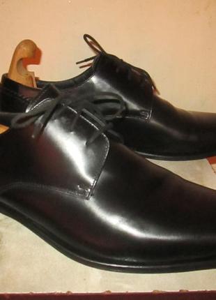 """Классические кожаные туфли  """" кenneth сole """" 45 р. ( 30 см ).  италия."""