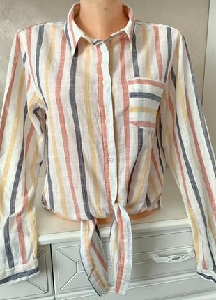 Брендовая котоновая рубашка