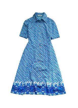 Винтажное платье 60х годов / япония сарафан / сукня / раритет / ретро / миди