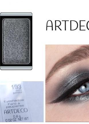 Тени artdeco sky gray black 193 тіні для повік