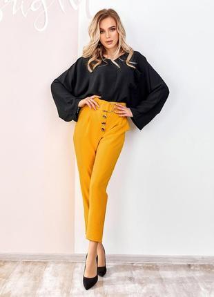 Свободная блуза с карманом oversize оверсайз белый, розовый, оливка, чёрный, терракот