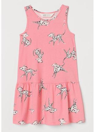 Детское платье, сарафан далматинцы h&m 87512