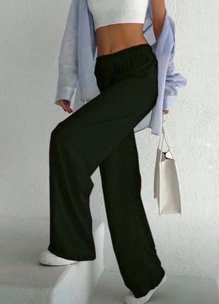 Брюки штани широкі спортивні  від primark розмір m-l