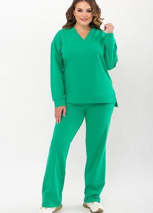 Батальный костюм зеленого цвета, арт. 72584