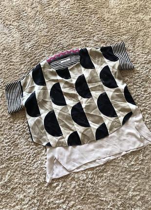 Блузка цікавого крою, розмір 2хл-3хл
