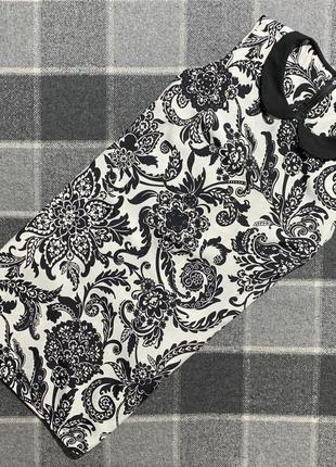 Женское короткое платье в цветочный принт dorothy perkins ( дороти перкинс м-лрр идеал оригинал)