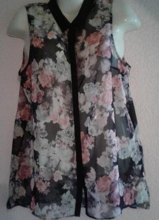Легкая нежная блуза туника
