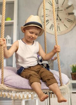 Соломенная шляпа на мальчика