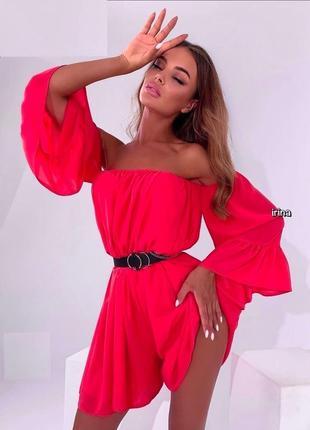 Шикарное платье 👌 3 цвета