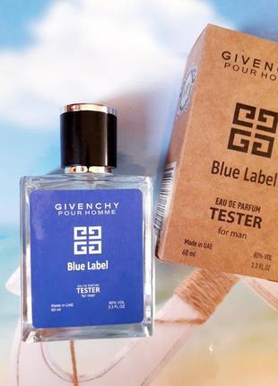 Blue label арабский тестер 60мл, духи, парфюм, туалетная вода, парфуми