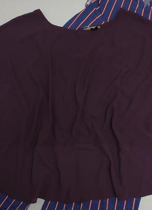 Новая блуза футболка шифоновая большого батального размера