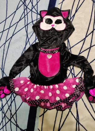 Карнавальный костюм кофта кошки на 1-2года