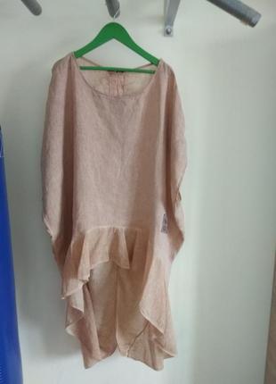 Роскошная кофточка блуза studio из натуральной ткани большого размера