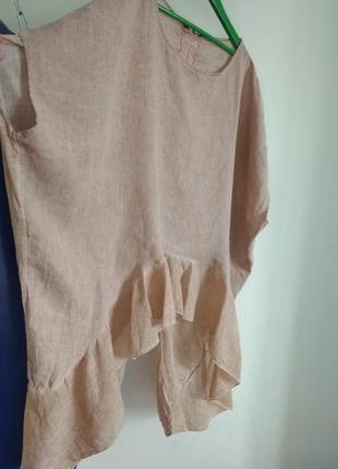Роскошная кофточка блуза studio из натуральной ткани большого размера2 фото