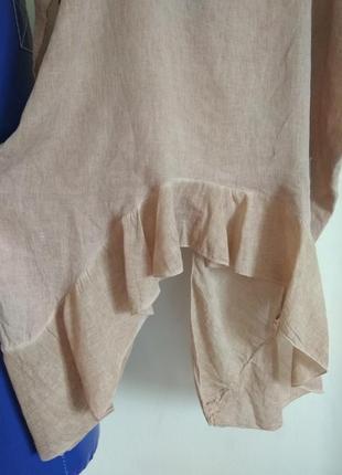 Роскошная кофточка блуза studio из натуральной ткани большого размера3 фото