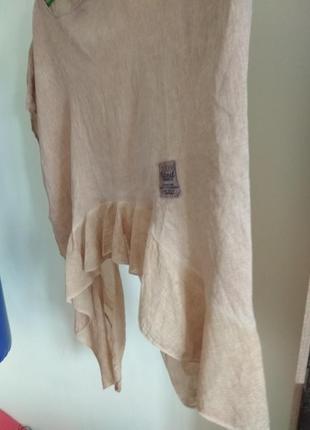 Роскошная кофточка блуза studio из натуральной ткани большого размера4 фото