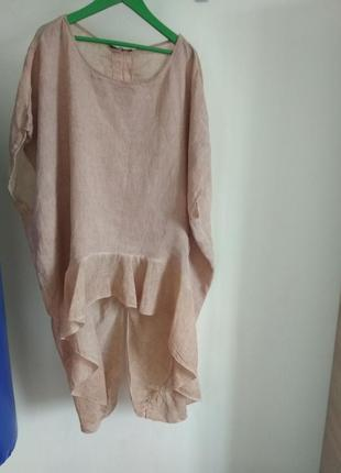 Роскошная кофточка блуза studio из натуральной ткани большого размера5 фото