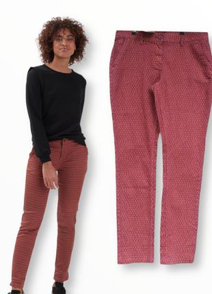 Чиносы,брюки,растительный принт