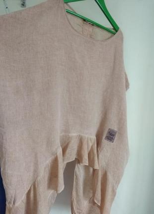Роскошная кофточка блуза studio из натуральной ткани большого размера9 фото