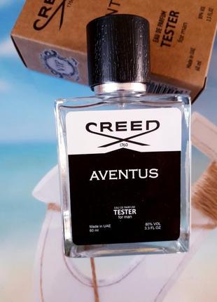 Aventus мужской тестер 60мл, духи, парфюм, туалетная вода, парфуми