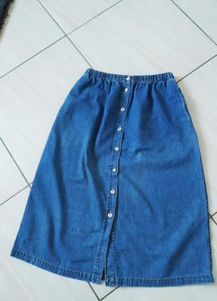 Спідниця damart джинс