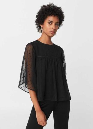 Романтичная блуза с воздушными рукавами ☺️