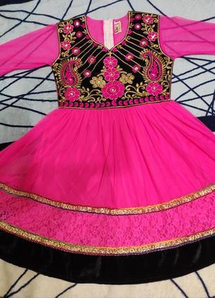Карнавальное платье восточной красавицы, жасмин, шахерезада на 2-3гтда