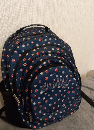 Школьный рюкзак синий dolly