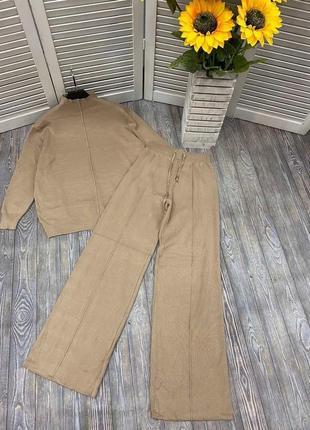 Костюм комплект кофта и штаны брюки цвета в ассортименте