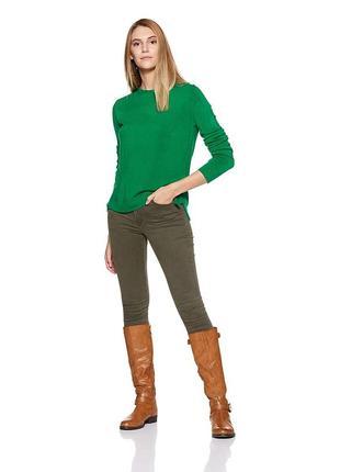 Мягкий свитер изумрудного цвета / большая распродажа!